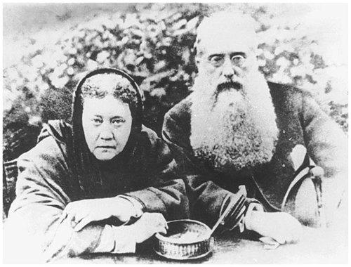 HP Blavatsky e Henry S. Olcott