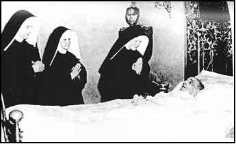 Pio XII moribundo