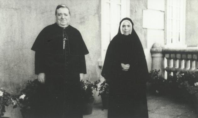 D. José Correia da Silva e Irmã Lúcia