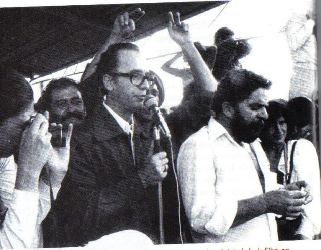 Claudio Humes e Lula