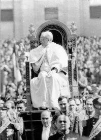 Papa Pio XII pouco antes de sua morte