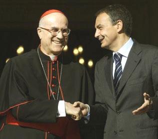 Risos para Zapatero ou para sua lei do aborto?