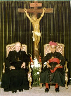 Bispos D. Mayer e D. Lefebvre