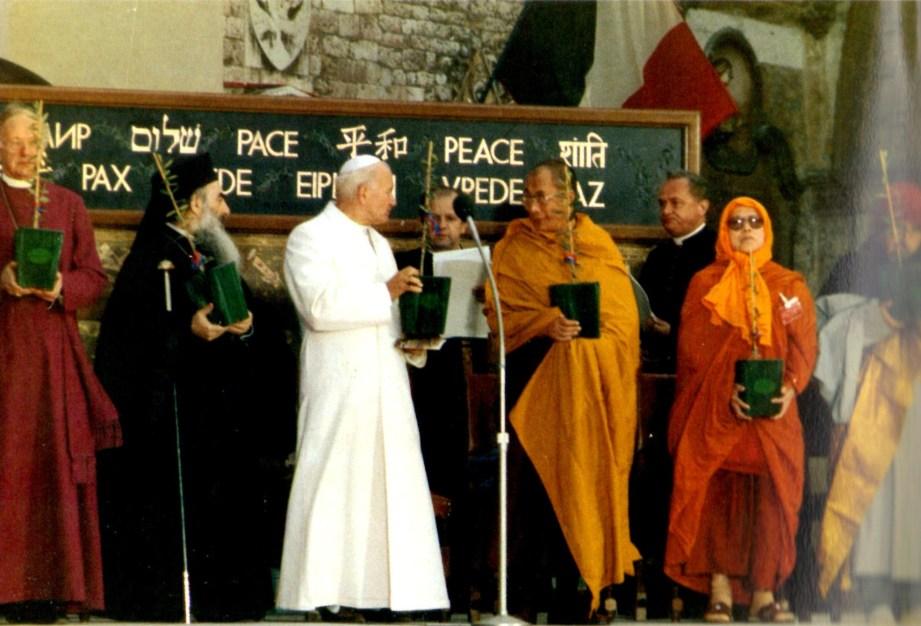 João Paulo II em Assis 1986