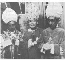 Sagração Episcopal do Mons. Carmona e Mons. Zamora