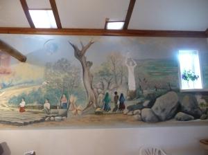 Pintura Capela da Casa de Nazaré, Aljustrel - Fátima