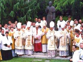 D. Lefebvre e os 4 Bispos da Fraternidade
