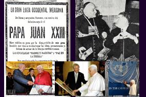 João XXIII e Eduard Helliot
