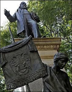 Estátua de Albert Pike