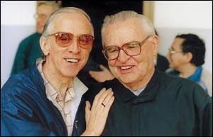 Pedro Casaldáliga e Evaristo Arns