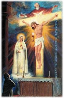Visão da Santíssima Trindade, Tuy 1929. Irmã Lúcia