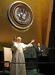 Anti-papa Bento XVI na ONU