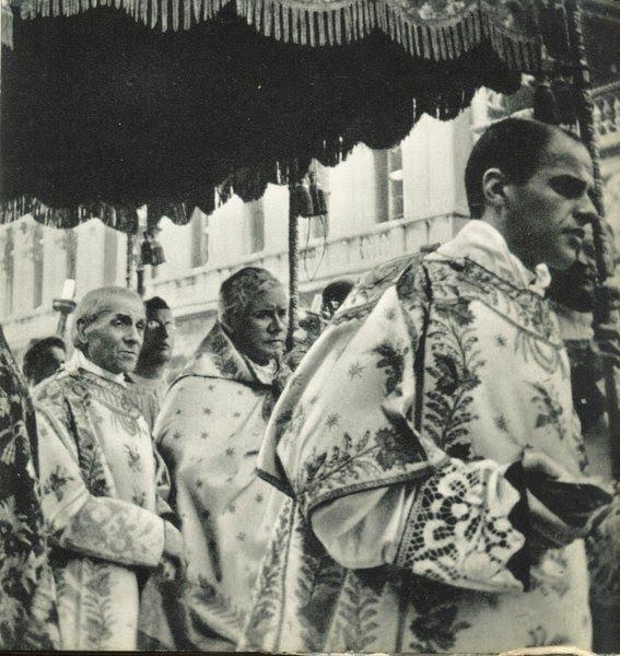S Pio X Procissão de Corpus Christi em Veneza
