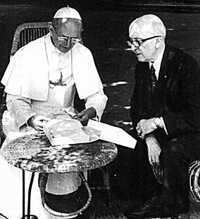 Paulo VI e Jean Guitton