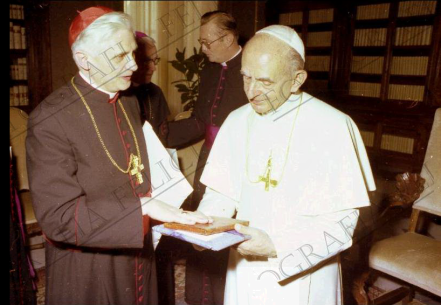 Ratzinger e Montini