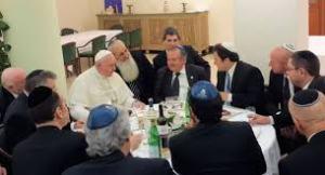 Bergoglio com judeus