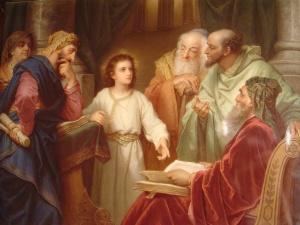 Jesus menino com os doutores