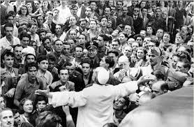 Pio XII Roma bombardeada