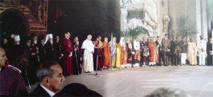 Todas as Religiões pela Paz em Assis 1986