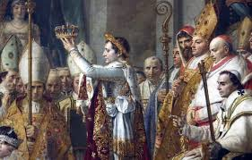 Napoleão auto coroado