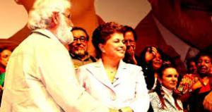 Dilma e Boff