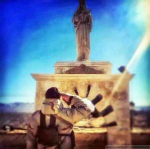 Imaculada na Síria