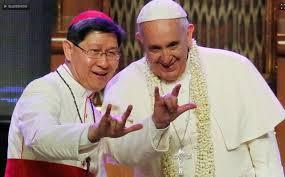 Bergoglio cornos
