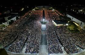 Fátima multidão
