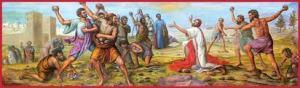 Santo Estevão vítima dos fanáticos