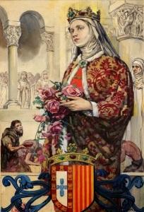 Santa+Isabel+de+Portugal,+Rainha+e+Terciária+Franciscana+(3)