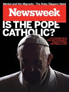 Newsweek Bwergoglio'