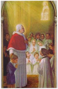 S.Pio X con bambini