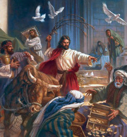 Gesù castiga