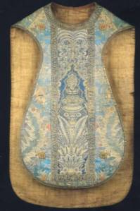 casula romana azul