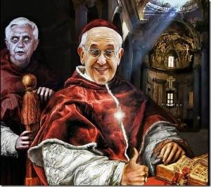 Papas fantasmas materialiter